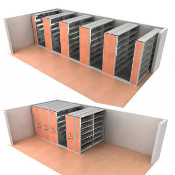 Improving Space with Mobile Shelving and Office Storage