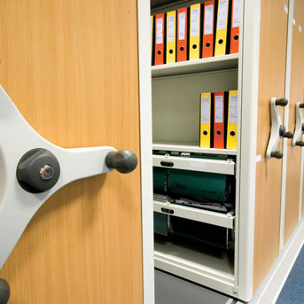 What is mobile shelving? Roller Racking? Industrial Moving Storage?